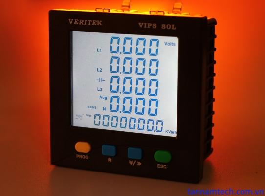 Đồng hồ đo điện đa năng Veritek VIPS 80L