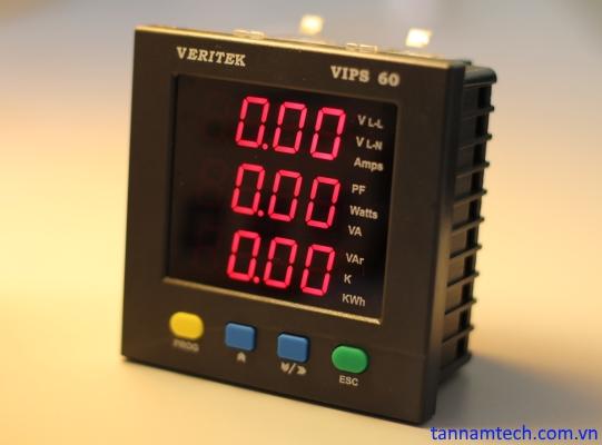 Đồng hồ đo điện đa năng Veritek VIPS 60