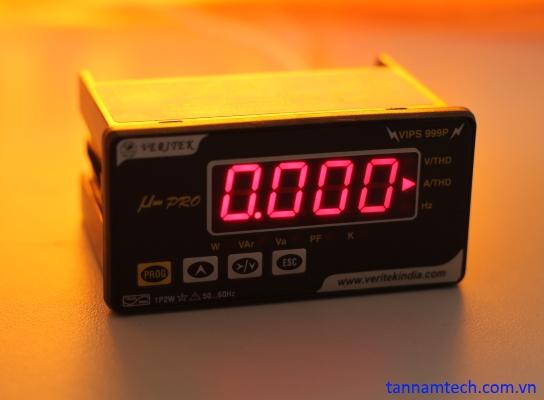 Đồng hồ đo điện đa năng 1 pha Veritek VIPS 999