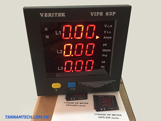 Đồng hồ đo điện đa chức năng Veritek VIPS 83P