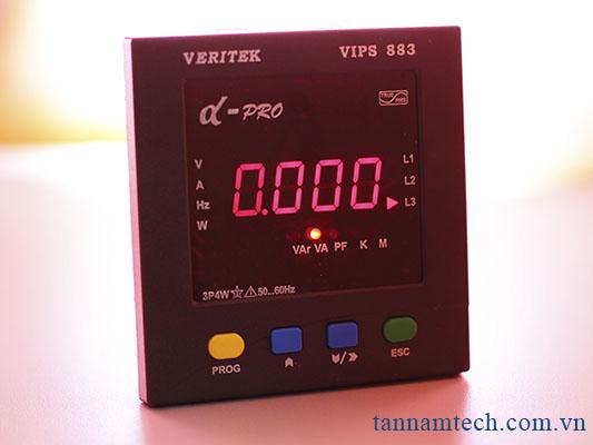 Đồng hồ đo điện ba pha Veritek - VIPS 883