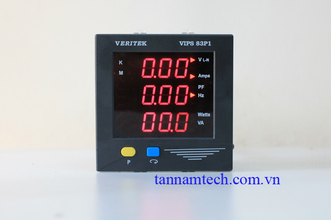 Đồng hồ đo điện đa chức năng một pha Veritek VIPS 83P1