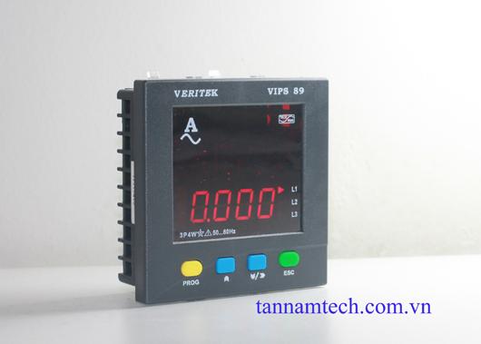 Thiết bị đo cường độ dòng điện 3 pha VIPS 89