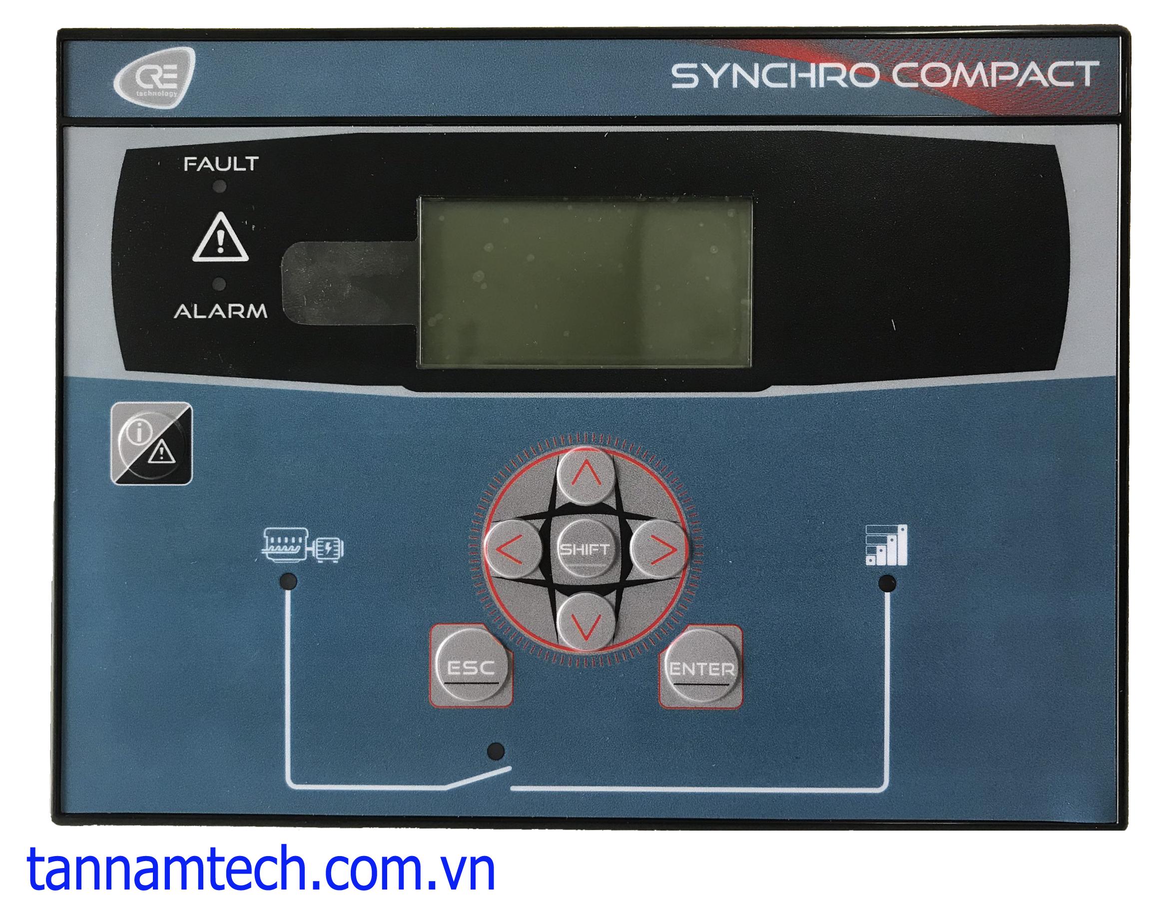 Bộ hoà đồng bộ tự động SYNCHRO COMPACT HMI