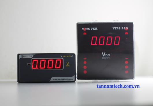 Đồng hồ đo điện áp một chiều VIPS 91D, PD